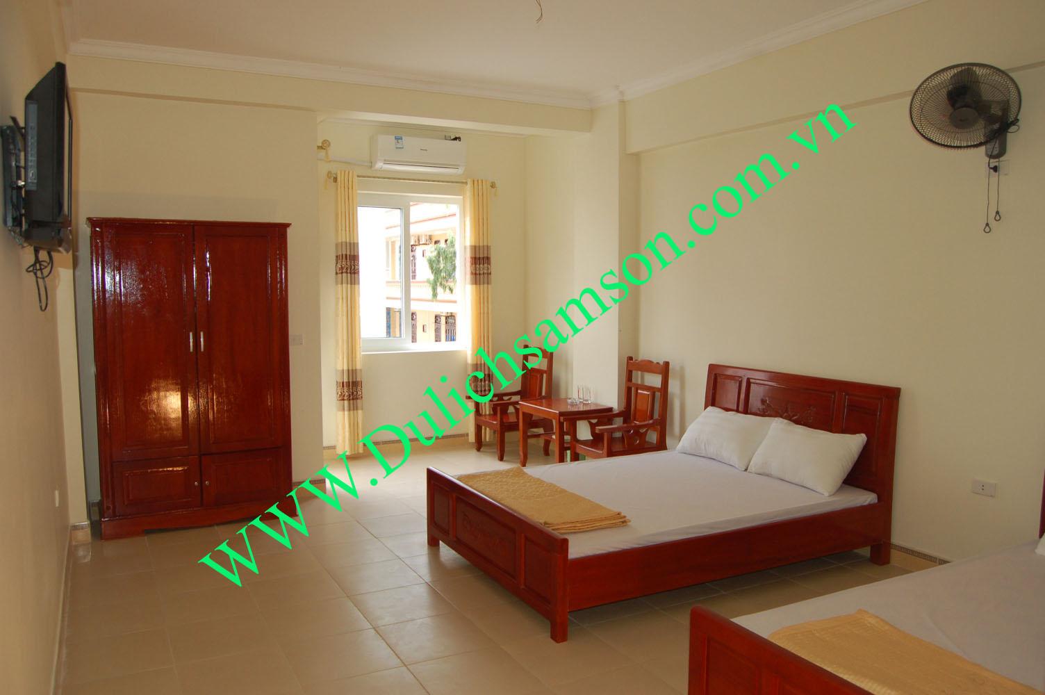 Giá phòng khách sạn Minh Thủy Sầm Sơn, khách sạn bãi C quy mô 20 phòng